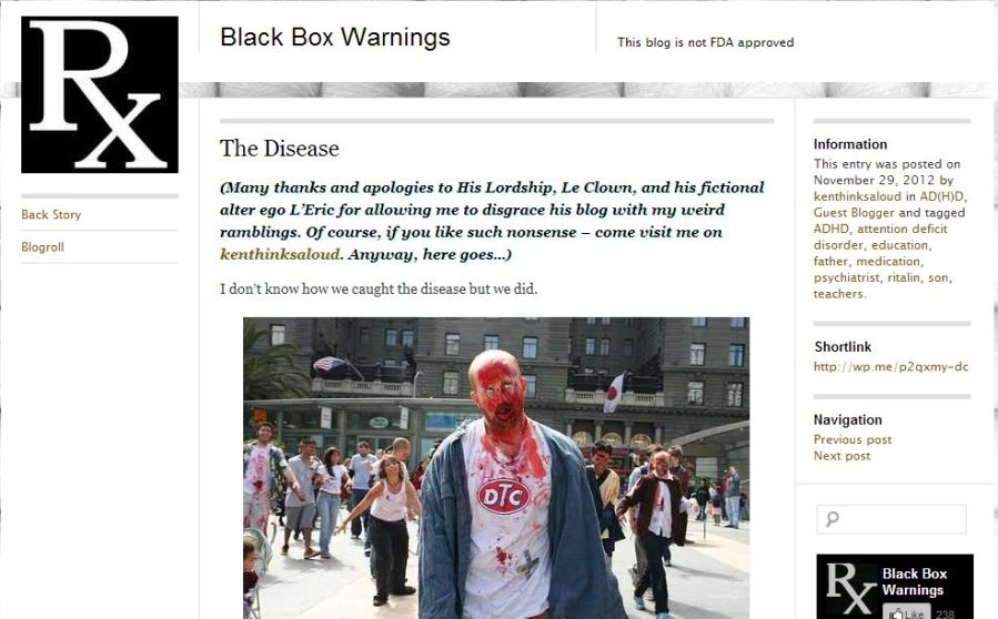 Black Bow Warnings - The Disease