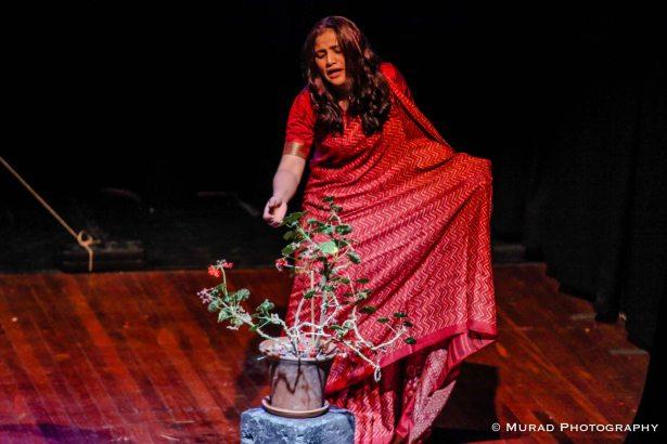 Jesmin Chowdhury as Maya (Photo: Murad Chowdhury)