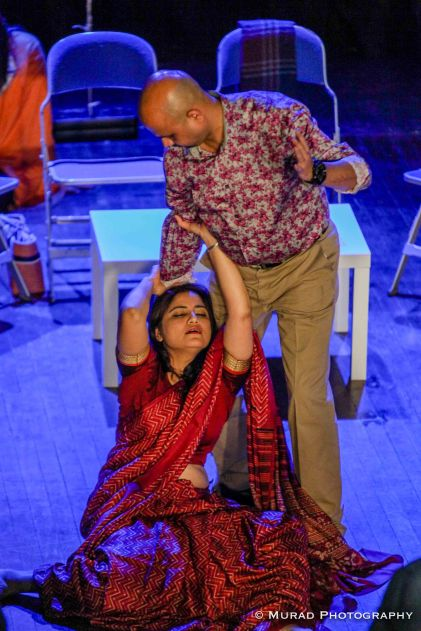 Jesmin Chowdhury and Al-Khurshid Himu play central roles (Photo: Murad Chowdhury)